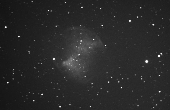 M27 imaged with 10-inch reflector